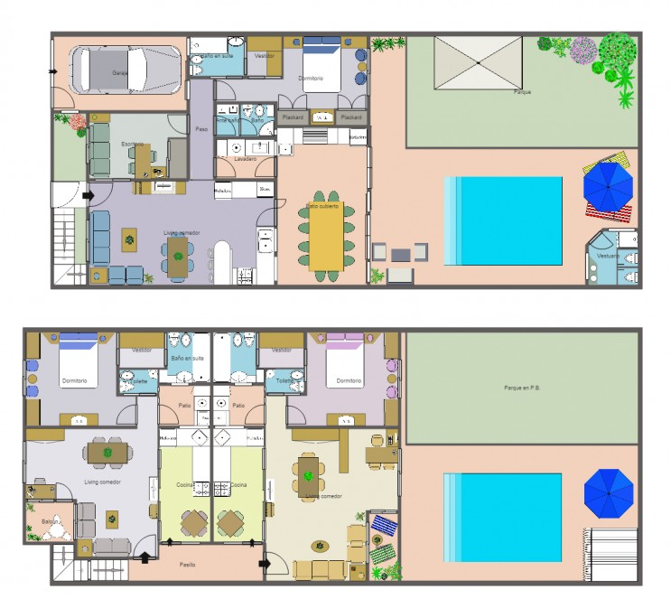 How To Draw A House Plan With Free Software Free House Plan And Free Apartment Plan