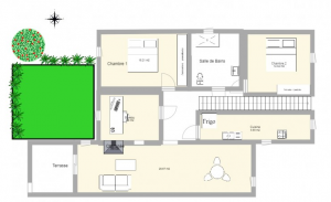 How to draw a house plan step by step | FREE house plan and FREE