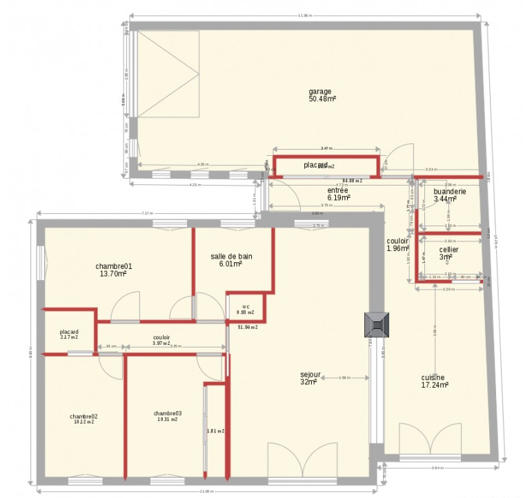 How to design a home plan using autocad