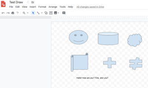 Google drawings 2