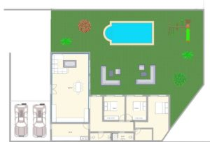 How to draw a floor plan 2